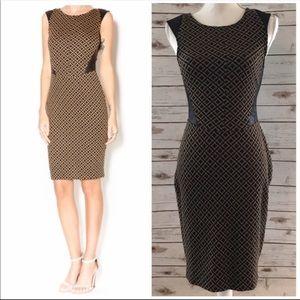WESTON WEAR 'Isela' Ponte Knit Sheathe Dress